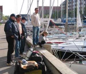 kanonvraget 03 bådene betragtes